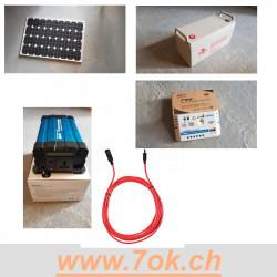Kit solaire 100 w 12 V pour...