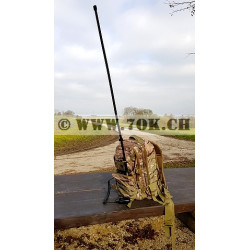 Antenne VHF UHF tactique militaire Abbree portable pliable