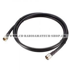 Câble coaxial RG 58 U 6...