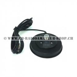 Embase magnétique pour antenne radioamateur ou CB cibi