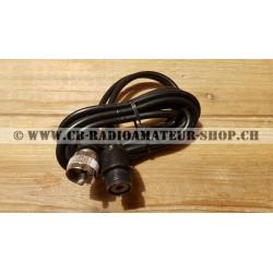 Rallonge pour câble d'antenne radio CB et radioamateur