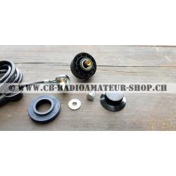 Sirio Embase de fixation antenne radio sur carrosserie fixe de voiture