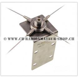 Plan de sol additionnel pour antennes HF VHF UHF