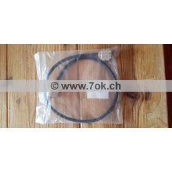 Câble raccord coax 50 cm PL...