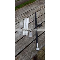 Antenne HF Outback explorer avec kit radian exclusivement chez CB radioamateur shop