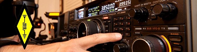 Ham radio amateur opération