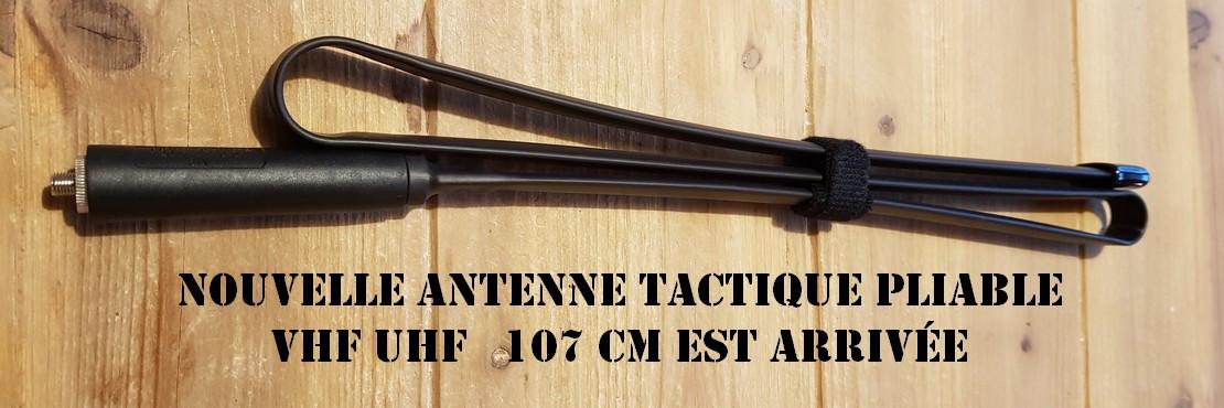 Nouvelle antenne tactique Abbree abrie